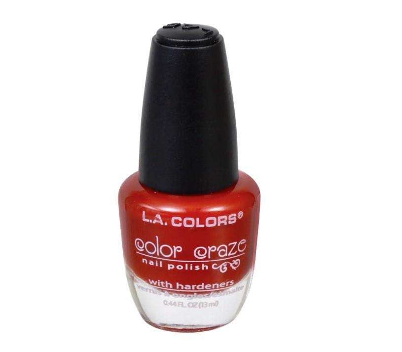 L.A. Colors Color Craze Hot Blooded Nail Polish, .5-oz. Bottles