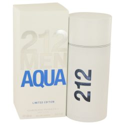 212 Aqua By Carolina Herrera Eau De Toilette Spray 3.4 Oz For Men #538758