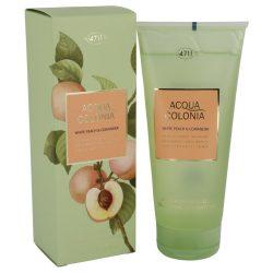 4711 Acqua Colonia White Peach & Coriander By Maurer & Wirtz Shower Gel 6.8 Oz For Women #540785