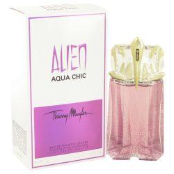 Alien Aqua Chic By Thierry Mugler Light Eau De Toilette Spray 2 Oz For Women #502736