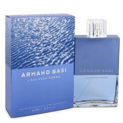 Armand Basi Leau Pour Homme By Armand Basi Eau De Toilette Spray 4.2 Oz For Men #547880