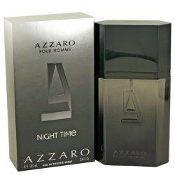 Azzaro Night Time By Azzaro Eau De Toilette Spray 3.4 Oz For Men #492916