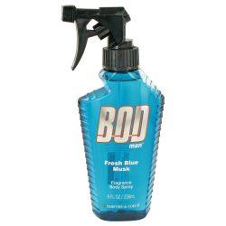 Bod Man Fresh Blue Musk By Parfums De Coeur Body Spray 8 Oz For Men #482619