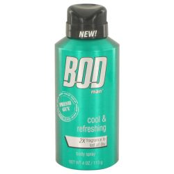Bod Man Fresh Guy By Parfums De Coeur Body Spray 4 Oz For Men #526521
