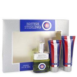 British Sterling By Dana Gift Set -- For Men #542917