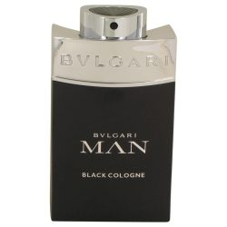 Bvlgari Man Black Cologne By Bvlgari Eau De Toilette Spray (Tester) 3.4 Oz For Men #538987