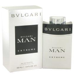 Bvlgari Man Extreme By Bvlgari Eau De Toilette Spray 3.4 Oz For Men #501033