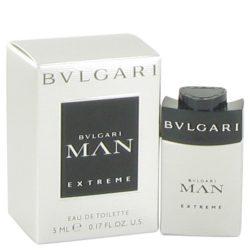 Bvlgari Man Extreme By Bvlgari Mini Edt .17 Oz For Men #517914