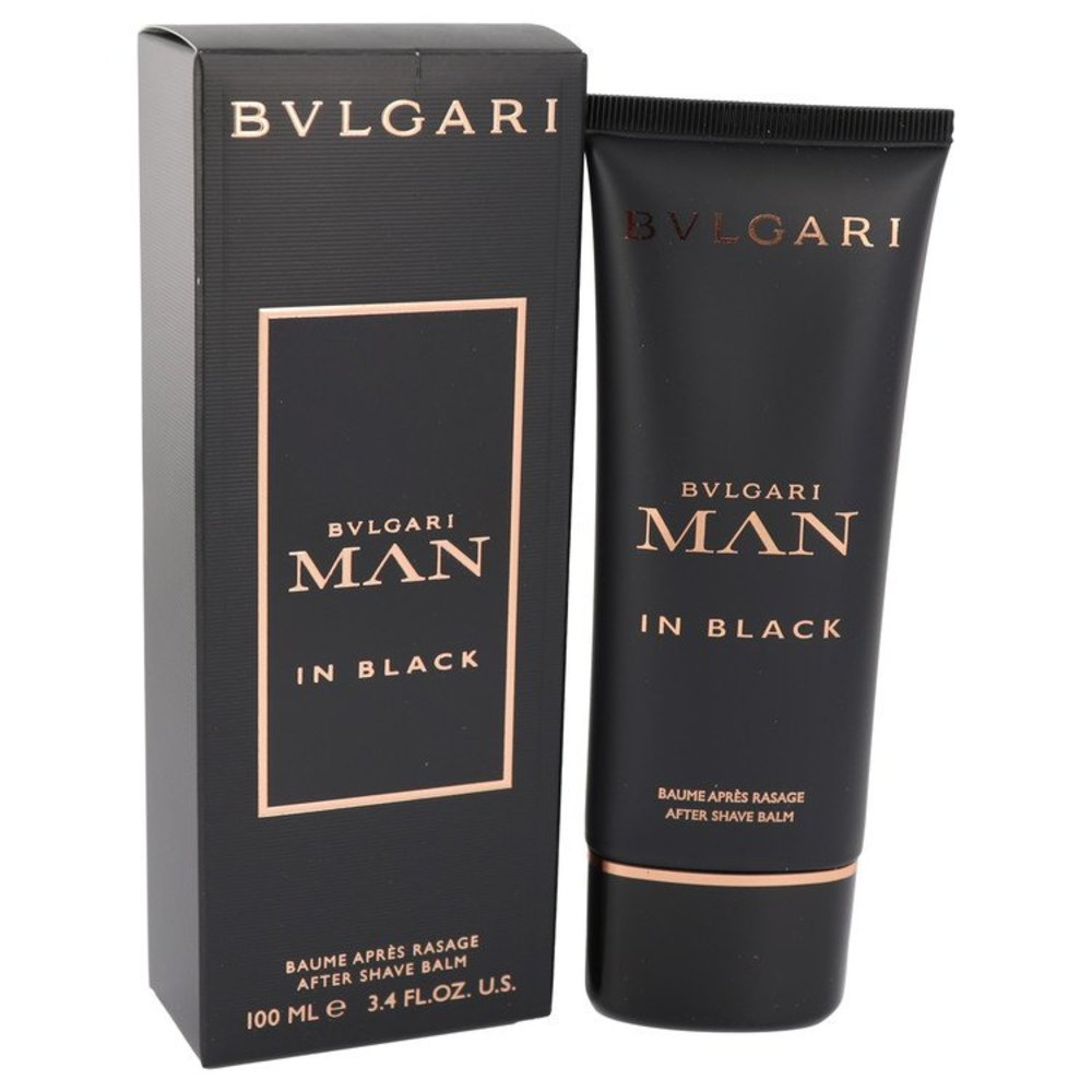 Bvlgari Man In Black By Bvlgari After Shave Balm 3.4 Oz For Men #541694