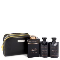 Bvlgari Man In Black By Bvlgari Gift Set -- For Men #537618