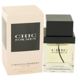 Chic By Carolina Herrera Eau De Toilette Spray 2 Oz For Men #418313