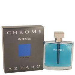 Chrome Intense By Azzaro Eau De Toilette Spray 1.7 Oz For Men #547783