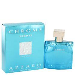 Chrome Summer By Azzaro Eau De Toilette Spray 1.7 Oz For Men #516440
