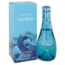 Cool Water Summer Edition By Davidoff Eau De Toilette Spray (2019) 3.4 Oz For Women #546844
