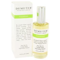 Demeter Geranium By Demeter Cologne Spray 4 Oz For Women #426399