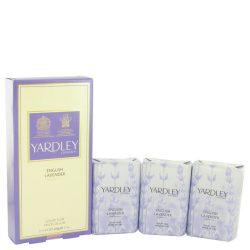 English Lavender By Yardley London 3 X 3.5 Oz Soap 3.5 Oz For Women #515298