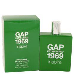 Gap 1969 Inspire By Gap Eau De Toilette Spray 3.4 Oz For Men #533221