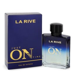 La Rive Just On Time By La Rive Eau De Toilette Spray 3.3 Oz For Men #545070