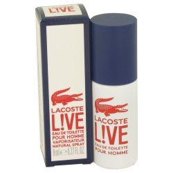 Lacoste Live By Lacoste Mini Edt Spray .27 Oz For Men #536371