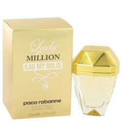 Lady Million Eau My Gold By Paco Rabanne Eau De Toilette Spray 1.7 Oz For Women #517938