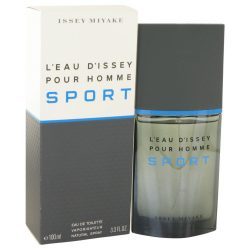 Leau Dissey Pour Homme Sport By Issey Miyake Eau De Toilette Spray 3.4 Oz For Men #501501