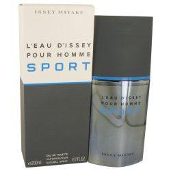 Leau Dissey Pour Homme Sport By Issey Miyake Eau De Toilette Spray 6.7 Oz For Men #535250