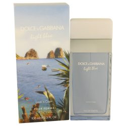 Light Blue Love In Capri By Dolce & Gabbana Eau De Toilette Spray 3.4 Oz For Women #536545