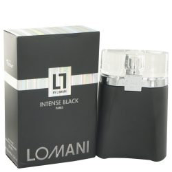 Lomani Intense Black By Lomani Eau De Toilette Spray 3.3 Oz For Men #503465