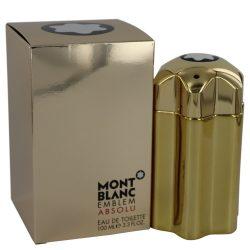 Montblanc Emblem Absolu By Mont Blanc Eau De Toilette Spray 3.4 Oz For Men #540518