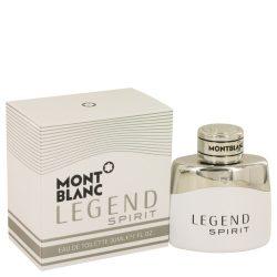 Montblanc Legend Spirit By Mont Blanc Eau De Toilette Spray 1 Oz For Men #539086