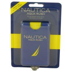 Nautica Aqua Rush By Nautica Eau De Toilette Travel Spray .67 Oz For Men #536886