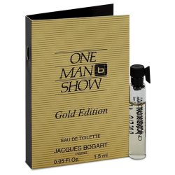 One Man Show Gold By Jacques Bogart Vial (Sample) .05 Oz For Men #543911