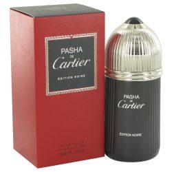 Pasha De Cartier Noire By Cartier Eau De Toilette Spray 3.3 Oz For Men #513459
