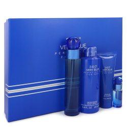 Perry Ellis 360 Very Blue By Perry Ellis Gift Set -- For Men #542789