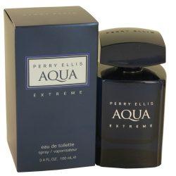Perry Ellis Aqua Extreme By Perry Ellis Eau De Toilette Spray 3.4 Oz For Men #535417