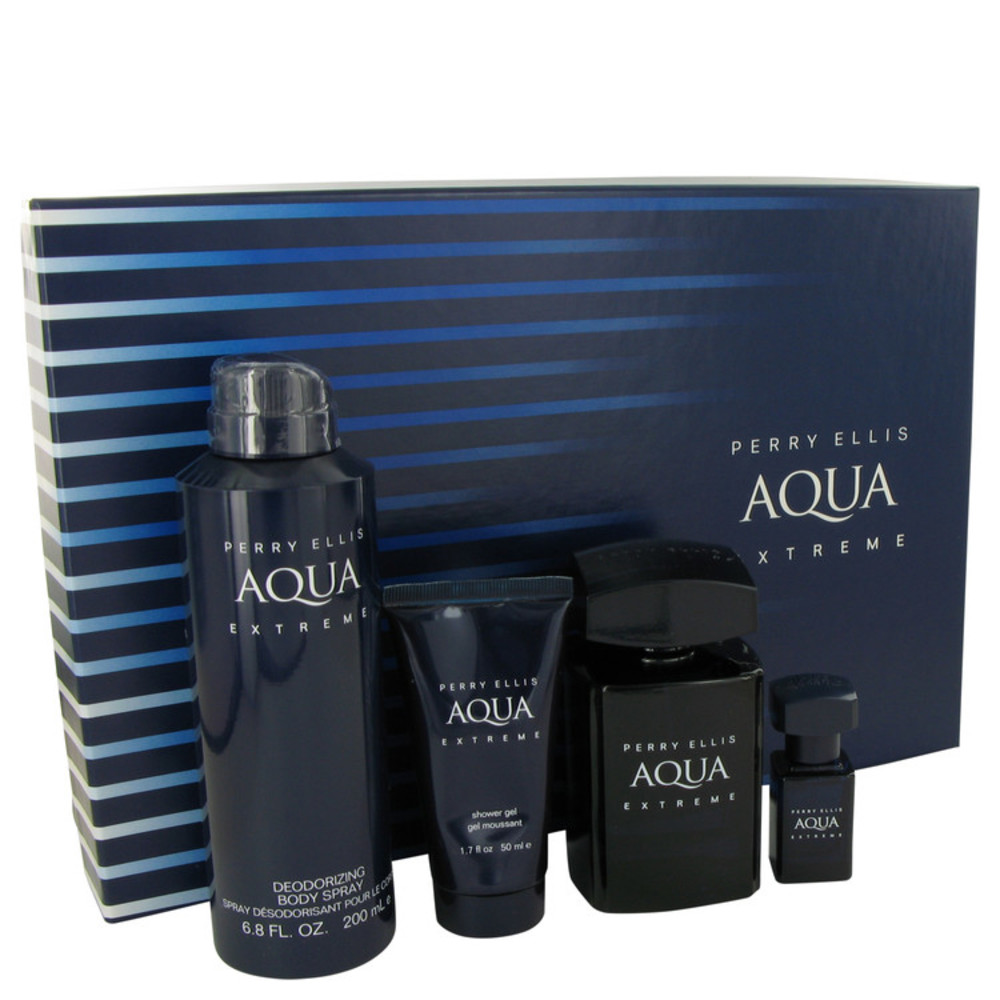 Perry Ellis Aqua Extreme By Perry Ellis Gift Set — For Men #539831