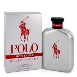 Polo Red Rush By Ralph Lauren Eau De Toilette Spray 4.2 Oz For Men #545154