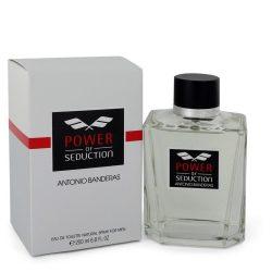 Power Of Seduction By Antonio Banderas Eau De Toilette Spray 6.7 Oz For Men #547566