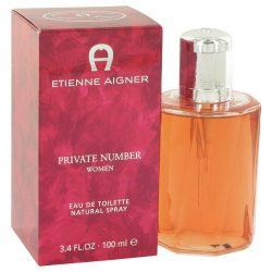 Private Number By Etienne Aigner Eau De Toilette Spray 3.4 Oz For Women #466081