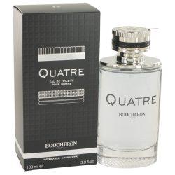 Quatre By Boucheron Eau De Toilette Spray 3.4 Oz For Men #518671