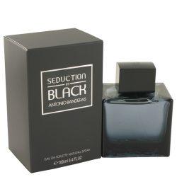 Seduction In Black By Antonio Banderas Eau De Toilette Spray 3.4 Oz For Men #482707