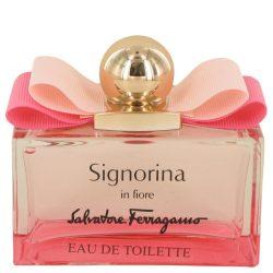 Signorina In Fiore By Salvatore Ferragamo Eau De Toilette Spray (Tester) 3.4 Oz For Women #537478