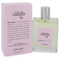Sweet Vanilla Fig By Philosophy Eau De Toilette Spray 4 Oz For Women #547898