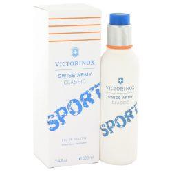 Swiss Army Classic Sport By Victorinox Eau De Toilette Spray 3.4 Oz For Men #518226