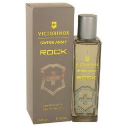 Swiss Army Rock By Victorinox Eau De Toilette Spray 3.4 Oz For Men #533950