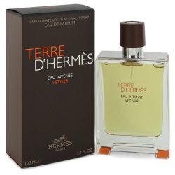 Terre Dhermes Eau Intense Vetiver By Hermes Eau De Parfum Spray 1.7 Oz For Men #547795
