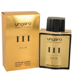 Ungaro Pour Lhomme Iii Oud By Ungaro Eau De Toilette Spray 3.4 Oz For Men #536986