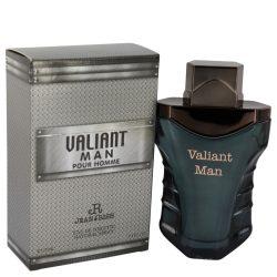 Valiant Man By Jean Rish Eau De Toilette Spray 3.4 Oz For Men #540899