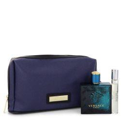 Versace Eros By Versace Gift Set -- For Men #543263