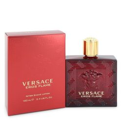Versace Eros Flame By Versace After Shave Lotion 3.4 Oz For Men #547305